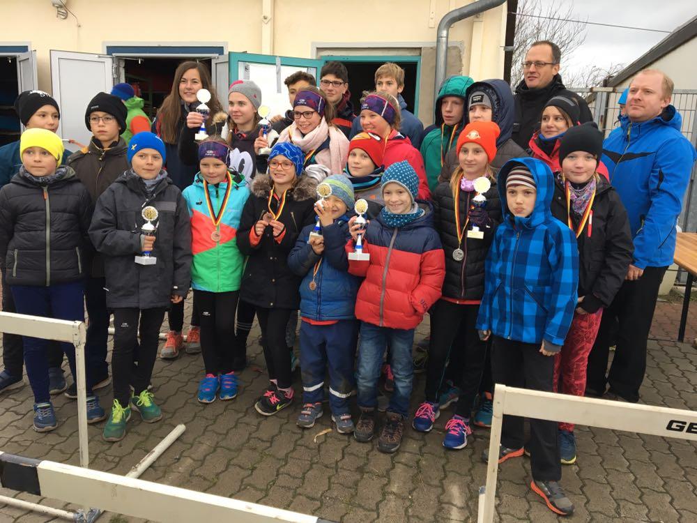 Kanu Klub Börde Magdeburg erfolgreich beim Crosslauf in Wolmirstedt